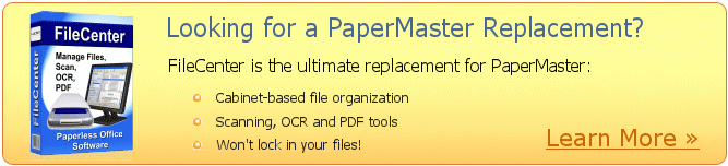 FileCenter - PaperMaster Replacement